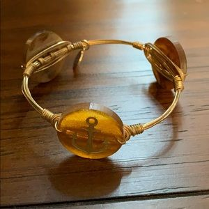 Bourbon and Bowties x Moon and Lola anchor bangle